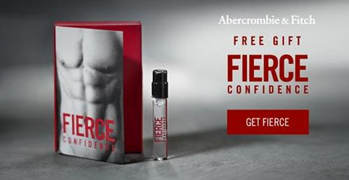 Abercrombie & Fitch Fierce Confidence Scent Free Sample via Facebook - US