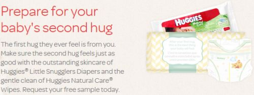 Huggies Little Snuggles Daipers and Huggies Natural Care Wipes Free Sample