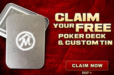 Marlboro Free Poker Deck and Custom Tin - US