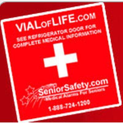 Bridge Building Charity Free Vial Of Life Project Sticker - US