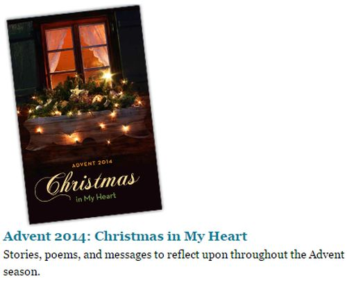Unity Free Advent 2014: Christmas in My Heart Booklet
