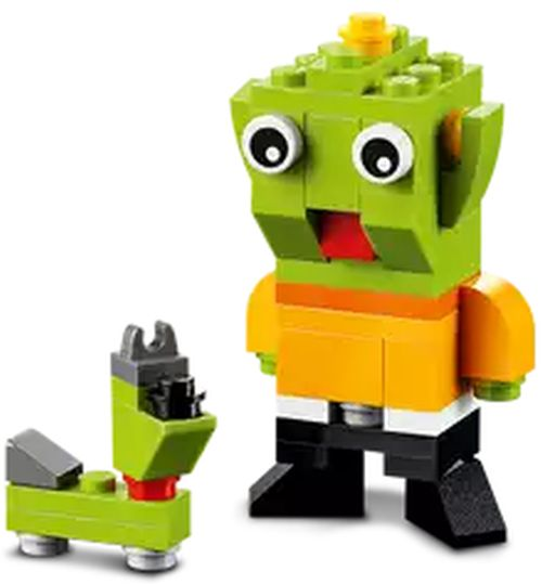 LEGO Stores Free LEGO Alien and Space Dog Mini Build on January 6, 2015