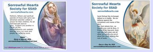Sorrowful Hearts Society Free Magnet - Canada and US