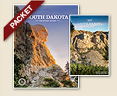 South Dakota Free Vacation Guide and Highway Map