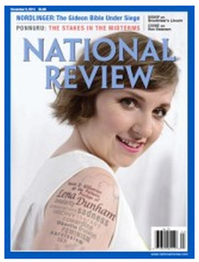 Mercury Magazines Free One Year Subscription to National Review Magazine - US