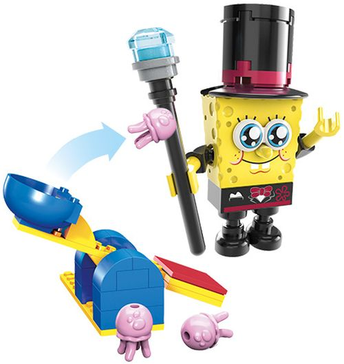 Toys R Us Free Mega Bloks SpongeBob SquarePants Figure on February 7, 2015 from 12 p.m. to 2 p.m.