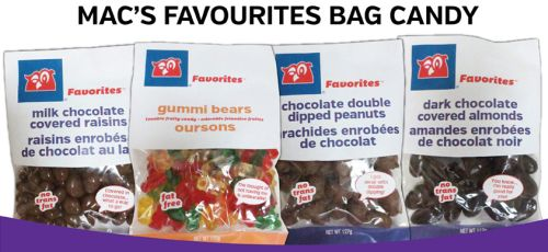 Mac's Free Bag of Favourite Candy - April 13 to 19, 2015, Canada