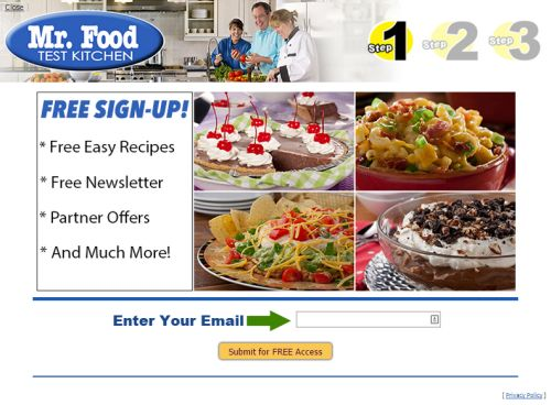 Mr. Food Easy Brunch Recipes eCookbook - US and Puerto Rico