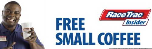RaceTrac Insider Free Printable Coupon for a Small Coffee - Exp. May 31, 2015