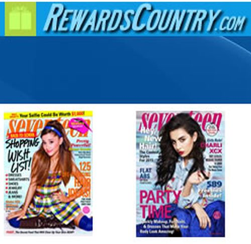 RewardsCountry.com Free One Year Subscription to Seventeen Magazine - US