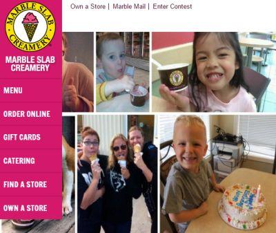 Marble Slab Creamery National Ice Cream Sandwich Day