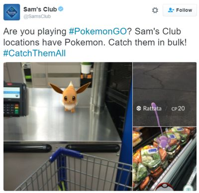 Sam's Club One-Day Membership Pokemon GO