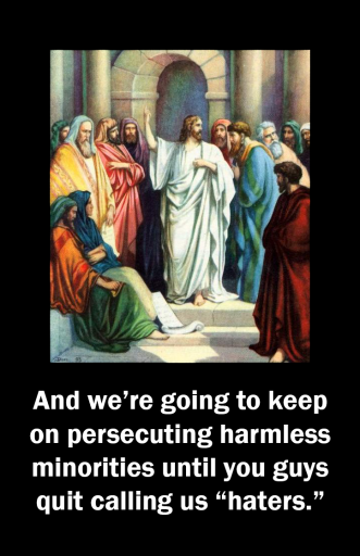 Jesus explains his plan for how to win the culture wars.