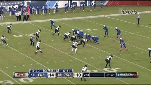Football game on American Sports Network
