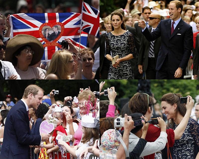 00011 Принц Уильям и Кэтрин Миддлтон путешествуют по Канаде