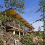 Cortes Island Residence в Канаде