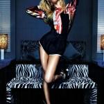 Candice Swanepoel in Vogue Italia
