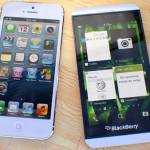 Comparison Between BlackBerry Z10 And Apple's Iphone