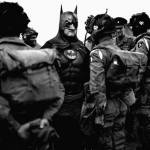 Superheroes in history of 20th century