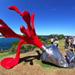 "Sculpture ""Splash"" by Tomas Misura"