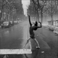 Ballerinas on Streets of NY City