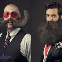 Portraits From the National Beard and Mustache Championships 2014