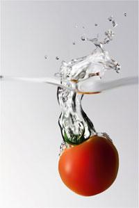 Een tomaat