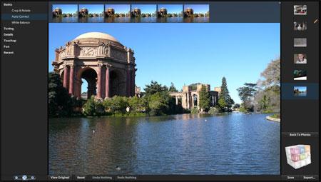 Screenshot Photoshop Express