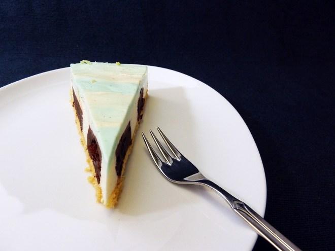 Cheesecake Stück Vanilla Sky vorne 1