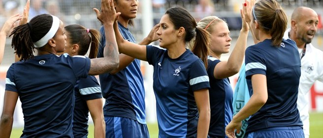 Bleues warm up