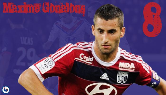 8 - Maxime Gonalons