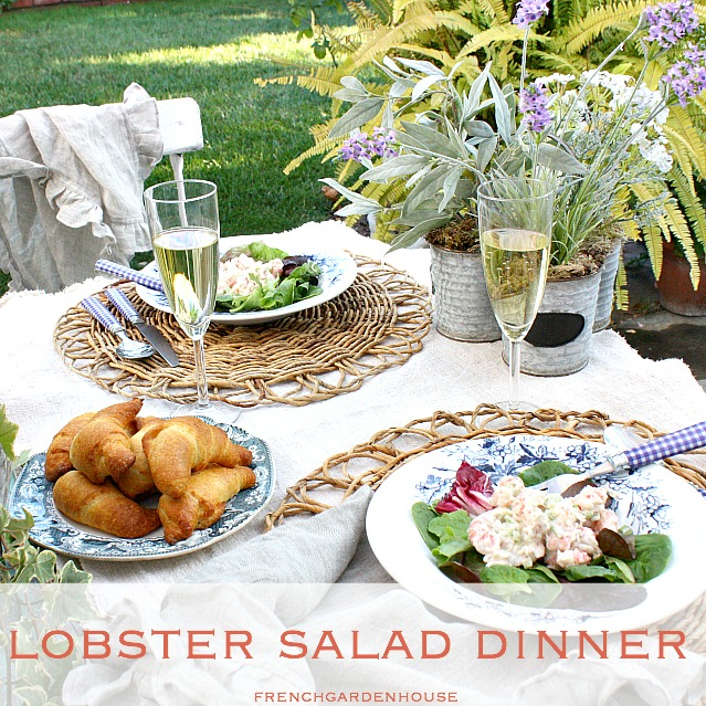FrenchGardenHouse Lobster Salad: What to Make for a Summer ...