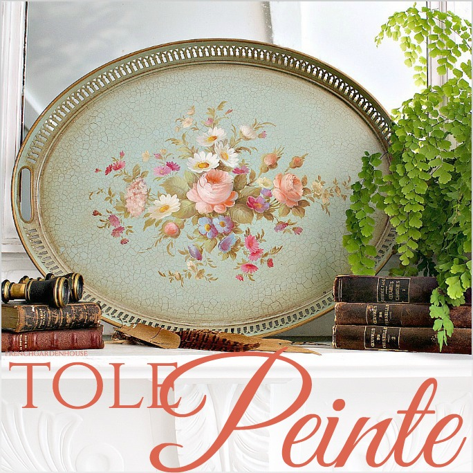 Secret Life of Antiques | Tole Peinte