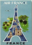 A Paris-centric view of France? Copyright Air France (vintage poster)
