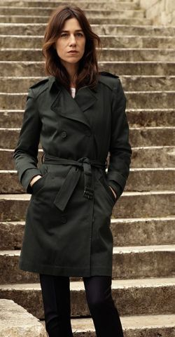 Charlotte Gainsbourg Trench
