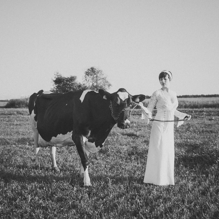 MaitJuriado Tuuli+Teet 06 Amazing Couple Session with a Cow