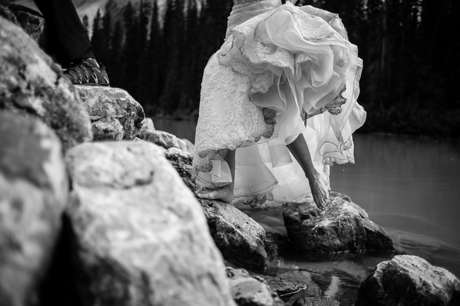 emerald lake lodge photo session carey nash 14 Canadian Emerald Lake Wedding Photos