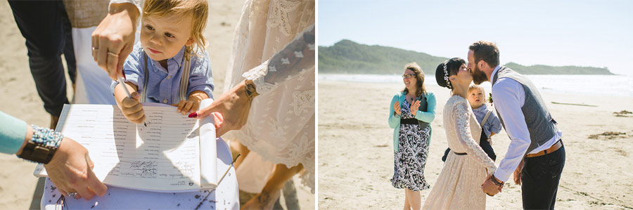 tofino beach wedding nordica photography 18 Intimate and Personal Wedding on the Beach in Canada