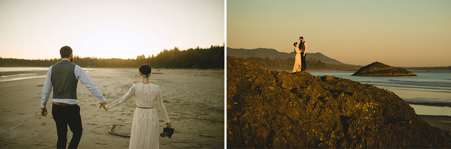 tofino beach wedding nordica photography 25 Intimate and Personal Wedding on the Beach in Canada