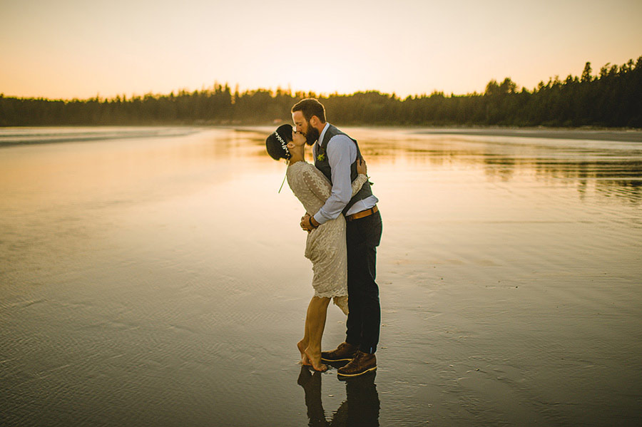 tofino beach wedding nordica photography 29 Intimate and Personal Wedding on the Beach in Canada