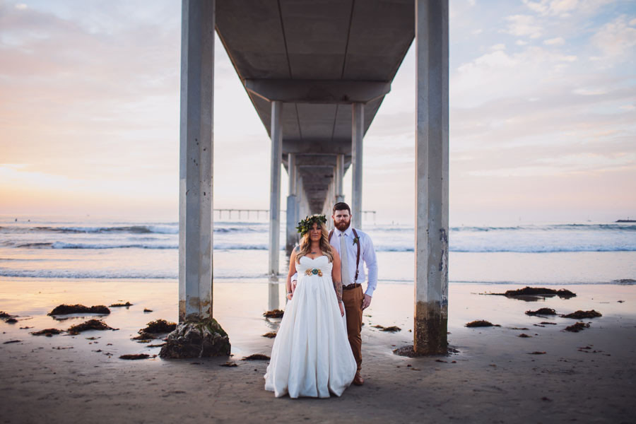 sea elopement pregnant bride 29 An Elopement in San Diego with a Nearly 9 Months Pregnant Bride