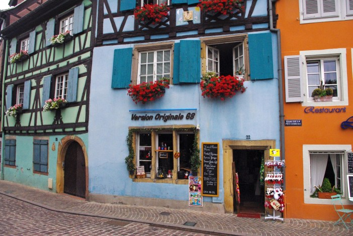 Half-timbered houses in Colmar © French Moments
