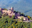 The castle of Haut-Kœnigsbourg surrounded by the forest of the Vosges © French Moments
