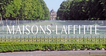 In the park of Maisons-Laffitte © French Moments
