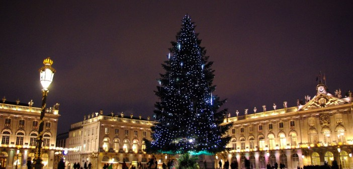 Christmas Tree on Place Stanislas, Nancy © French Moments