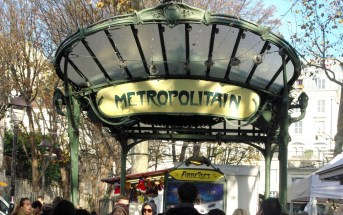 Métro station of Place des Abbesses © French Moments