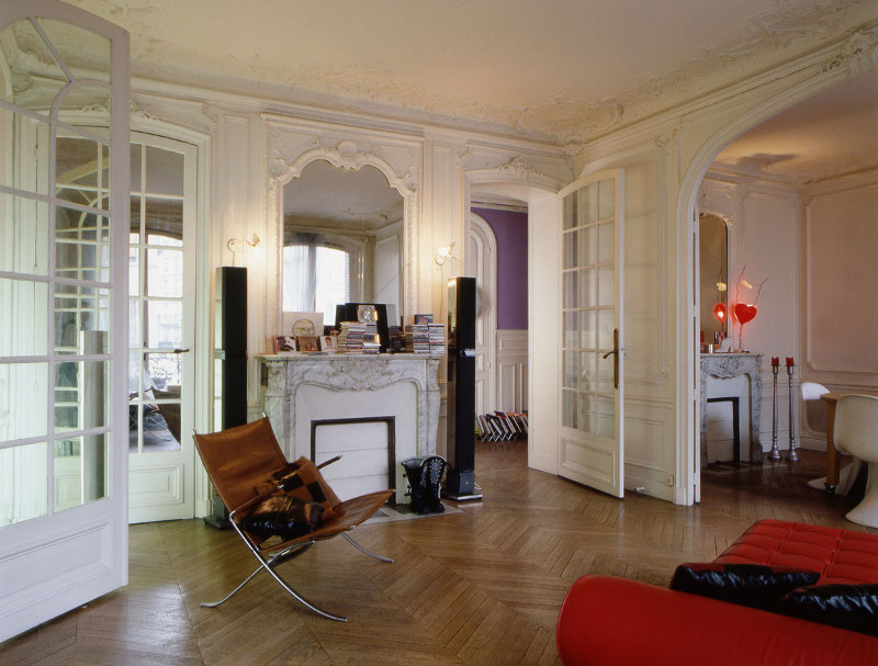 Le style haussmannien revisit frenchy fancy for Interieur haussmannien