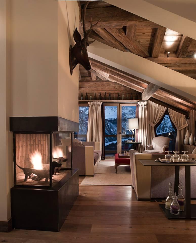 Chalet frenchy fancy - Decoration chalet interieur ...