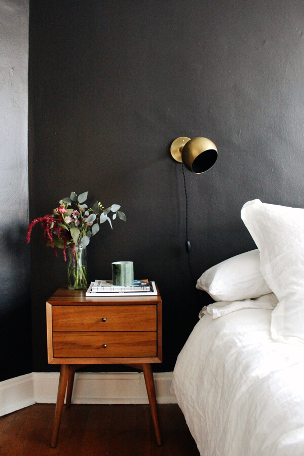 10 chambres au look noir frenchy fancy. Black Bedroom Furniture Sets. Home Design Ideas