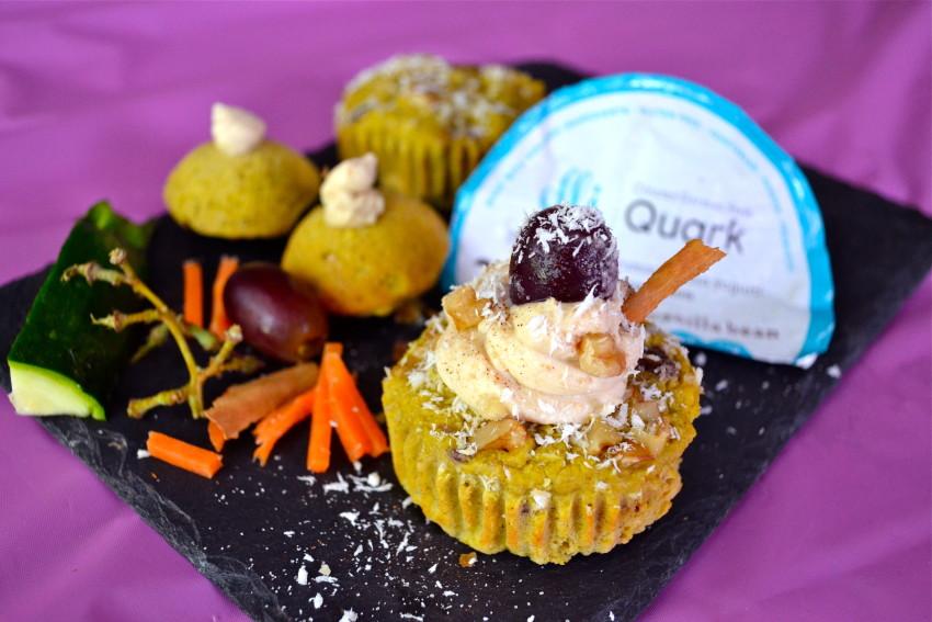 Carrot Cake Walnuts Grapes No Sugar